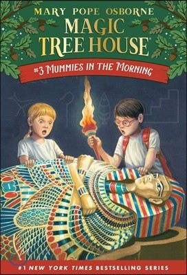 (Magic Tree House #3) Mummies In The Morning