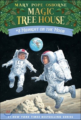 (Magic Tree House #8) Midnight on the Moon