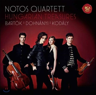 Notos Quartett 헝가리안 트래져스 - 바르톡 / 도흐나니 / 코다이: 피아노 사중주 (Hungarian Treasures - Bartok / Dohnanyi / Kodaly) 노토스 콰르텟