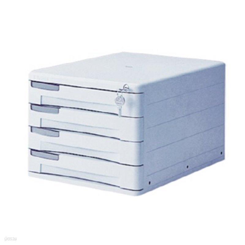 [시스맥스] 서류함 1214K 개인4단(W264*D350*H206mm)