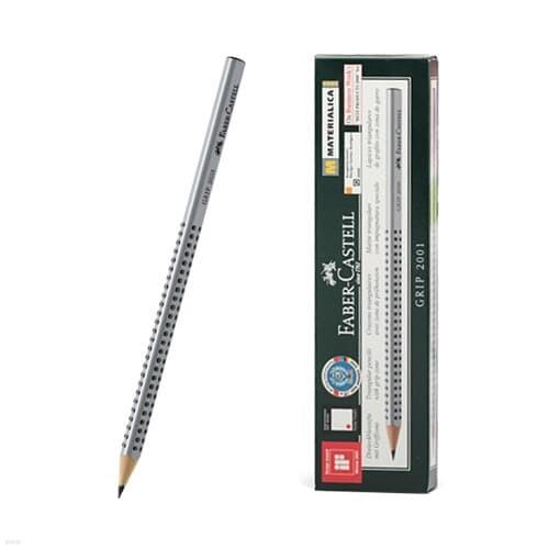 [파버카스텔] 그립2001 연필 HB (실버12입)