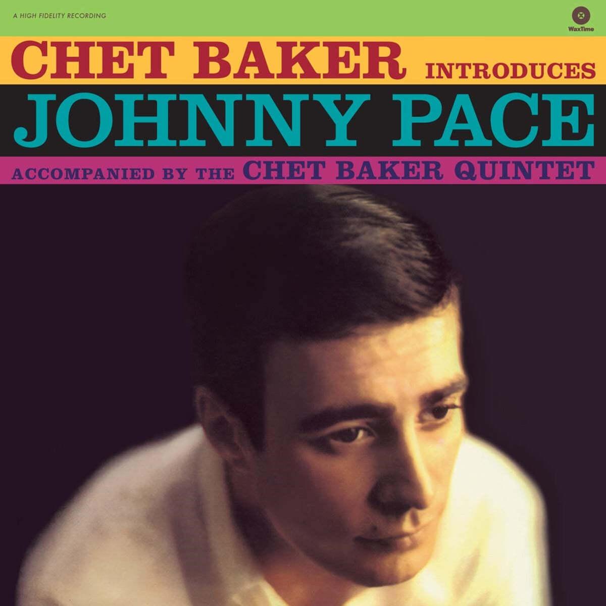 Chet Baker Quintet (쳇 베이커 퀸텟) - Introduces Johnny Pace [LP]
