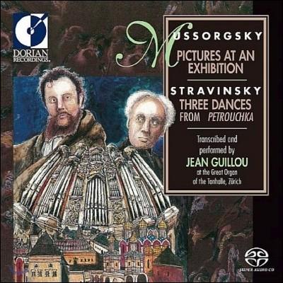 Jean Guillou 무소르그스키: 전람회의 그림 / 스트라빈스키: 페트루슈카 [오르간 편곡반] (Mussorgsky: Pictures at an Exhibition / Stravinsky: Three Dances from Petrouchka) 장 기유