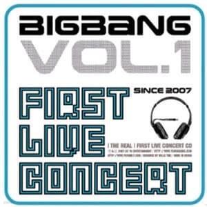 빅뱅 (Bigbang) - 2008 Bigbang First Live Concert : The Real (재발매/쥬얼케이스)