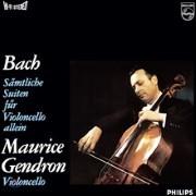 Maurice Gendron 바흐: 무반주 첼로 모음곡 전곡집