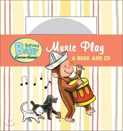 Curious Baby Curious George : Music Play (Book & CD)
