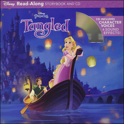 Tangled : Read-Along Storybook & CD