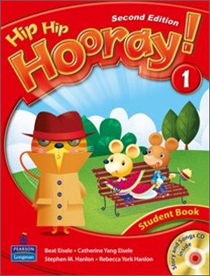 Hip Hip Hooray 1 : Student Book (Book & CD)