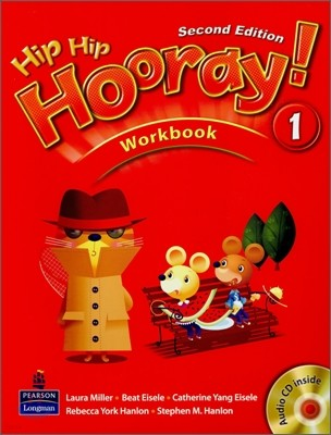 Hip Hip Hooray 1 : Workbook (Book & CD)