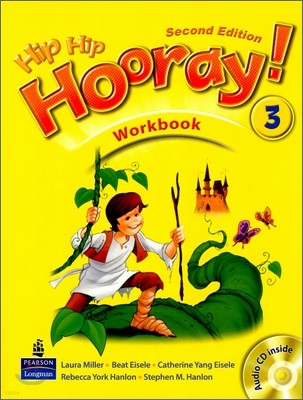 Hip Hip Hooray 3 : Workbook (Book & CD)