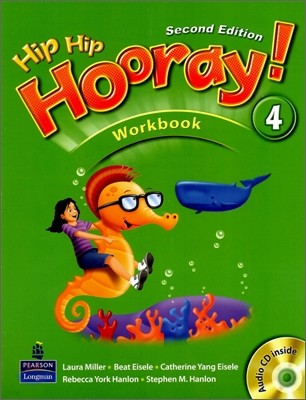 Hip Hip Hooray 4 : Workbook (Book & CD)