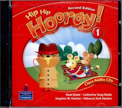 Hip Hip Hooray 1 : Audio CD
