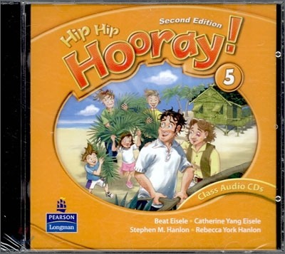 Hip Hip Hooray 5 : Audio CD