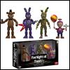 Funko - (펀코)Funko Articulated Action Figure: Five Nights At Freddy's - 4 Figure Pack (2), Set 2(파이브나이츠엣프레디)(프레디의 피자가게 피규어 나이트메어)