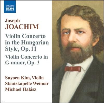 김수연 (Suyoen Kim) 요제프 요아힘: 바이올린 협주곡 (Joseph Joachim: Violin Concertos Opp. 3 & 11)