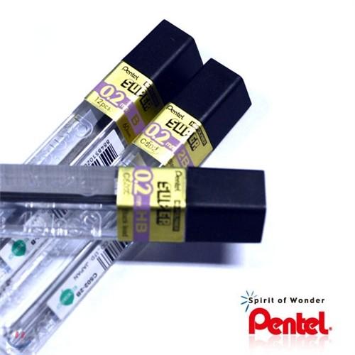 [알앤비]펜텔 하이폴리머 0.2mm 샤프심 HI-POLYMER/C502