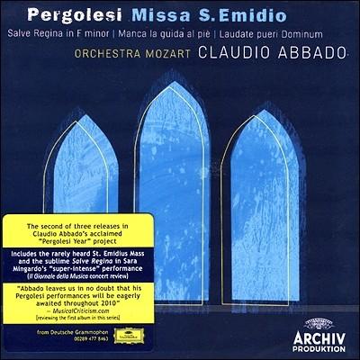 Claudio Abbado 페르골레지: 미사 S 에미디오 (Pergolesi: Missa S. Emidio)