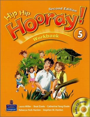 Hip Hip Hooray 5 : Workbook (Book & CD)