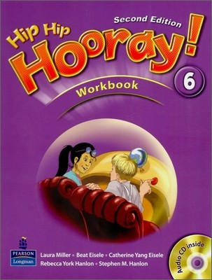Hip Hip Hooray 6 : Workbook (Book & CD)