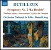 Darrell Ang 앙리 뒤티외: 교향곡 2번 '이중(더블)', 순간의 신비 & 음색, 공간, 움직임(별이 빛나는 밤) (Dutilleux: Symphony 'Le Double', Mystere de l'Instant) 릴 국립 오케스트라, 다렐 앙