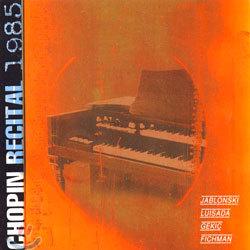 Chopin Recital 1985