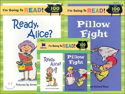 [I'm Going to READ!] Level 2 : Ready, Alice? / Pillow Fight (Book & CD)