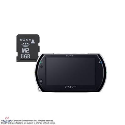 [PSP go] PSP go 본체(색상선택)+SONY M2 8GB 메모리스틱 마이크로 메모리 패키지
