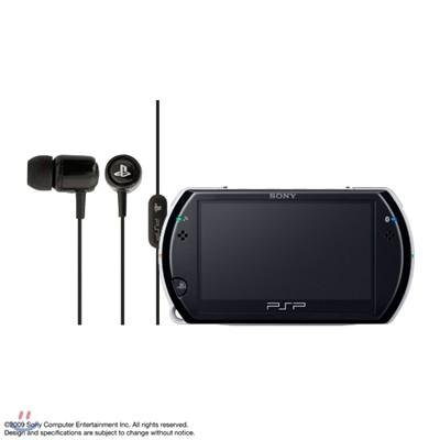 [PSP go] PSP go본체(색상선택)+SONY In-Ear 헤드셋 패키지