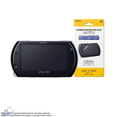 [PSP go] PSP go 본체(색상선택)+SONY 액정보호필름 패키지