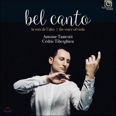 Antoine Tamestit 벨 칸토 - 비올라의 목소리 (Bel Canto - The Voice of Viola)