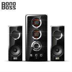 보노보스 2.1채널 VFD 스피커 시스템 BOS-5000 TITAN (전면컨트롤패널 / LED전원 인디게이터)