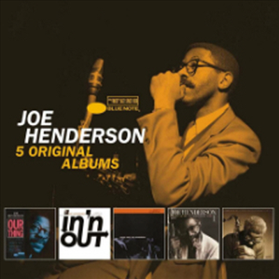 Joe Henderson - 5 Original Albums (With Full Original Artwork) (5CD Boxset)
