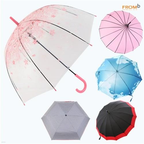 프롬비 체리블라썸 벚꽃우산/3단/장우산