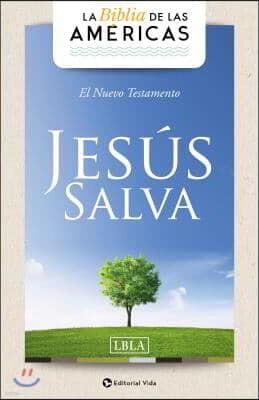 Lbla Nuevo Testamento 'Jesus Salva', Tapa Rustica