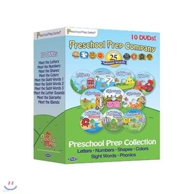 Preschool prep 프리스쿨 프렙 DVD set 전10종