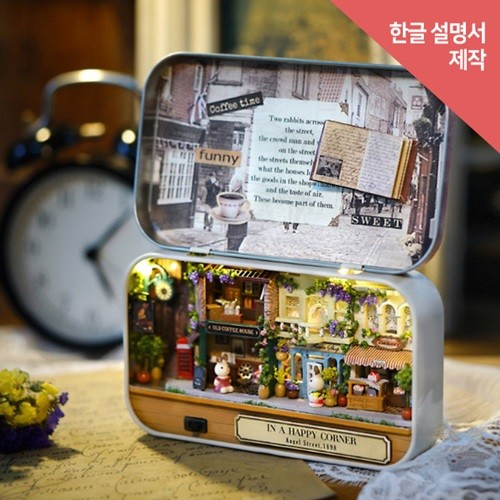 [adico] DIY 미니어처 드림박스 - 커피 하우스