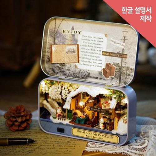 [adico] DIY 미니어처 드림박스 - 메모리스 호텔