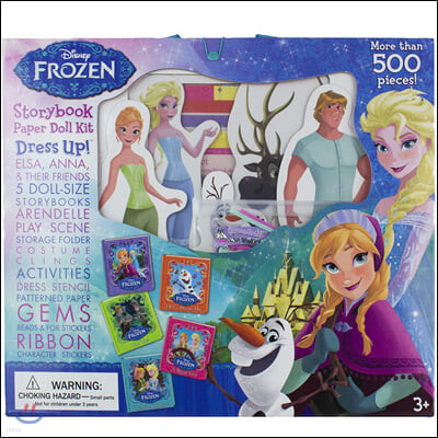 Disney Frozen : Paper Doll Kit