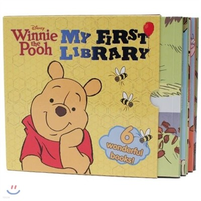 Disney Winnie the Pooh : My First Library (6 wonderful books)