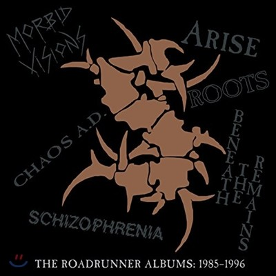 Sepultura (세풀투라) - The Roadrunner Albums : 1985-1996 [6 컬러 디스크 LP 한정반]