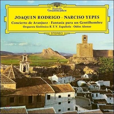 Narciso Yepes 로드리고: 아랑훼즈 협주곡, 어느 고귀한 분을 위한 환상곡 (Joaquin Rodrigo: Concierto de Aranjuez, Fantasia para un Gentilhombre) 나르시소 예페스 [LP]