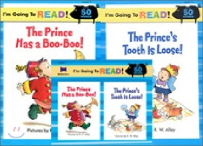 [I'm Going to READ!] Level 1 : The Prince Has a Boo-Boo! / The Prince's Tooth Is Loose! (Book & CD)