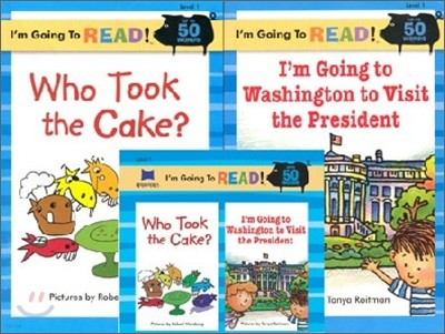 [I'm Going to READ!] Level 1 : Who Took the Cake / Im going to Washington to Visit the President (Book & CD)