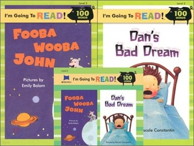 [I'm Going to READ!] Level 2 : Fooba Wooba John / Dans Bad Dream (Book & CD)