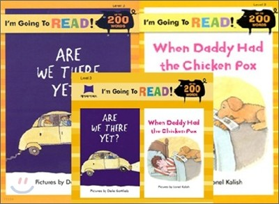 [I'm Going to READ!] Level 3 : Are We There Yet? / When Daddy Had the Chicken Pox (Book & CD)