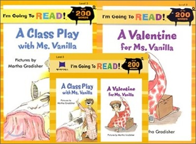 [I'm Going to READ!] Level 3 : Class Play with Ms. Vanilla, A / Valentine for Ms. Vanilla,A (Book & CD)