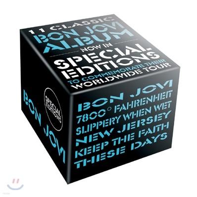 본 조비 라이브 버전이 추가된 스페셜 에디션 11타이틀 + 보관 박스