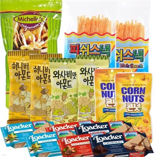 [무료배송] 종합간식세트 : 먹어가며 응원하자