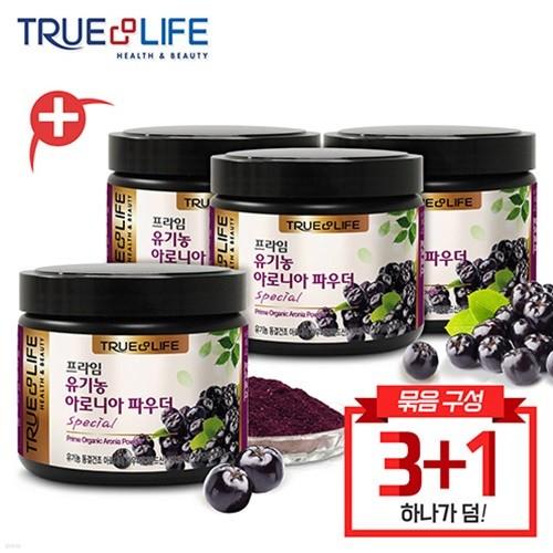 TNL뉴트리션 100% 유기농 아로니아 파우더 100g 4개