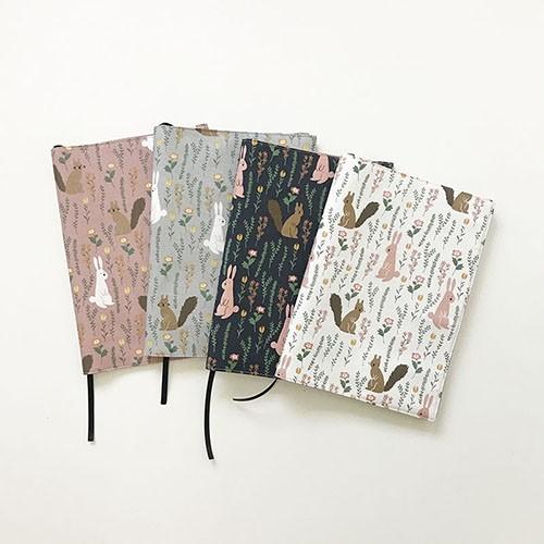 [바느질시간]토끼북커버 4colors